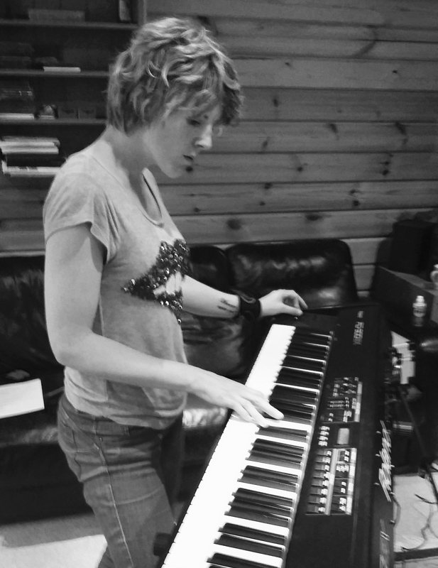 Charlie on piano